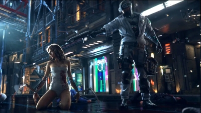 Artwork ke hře Cyberpunk 2077