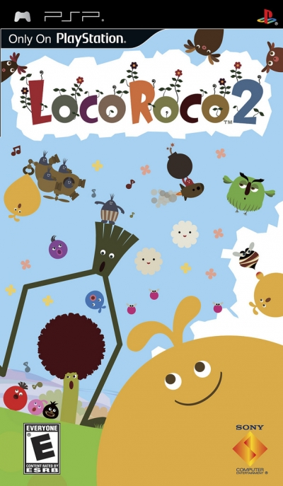 Obal hry LocoRoco 2