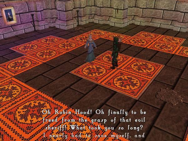 robin hood´s quest  ps2 hra  cdhcz