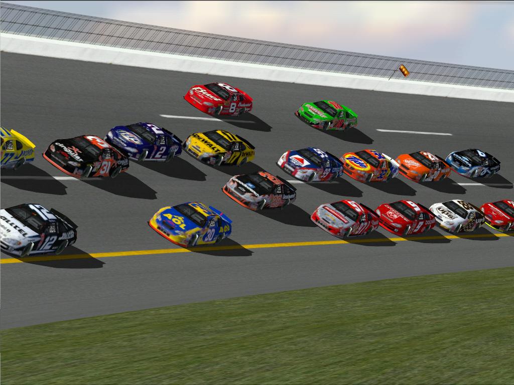 OUR GAME CARS NR2003 NASCAR HEAT