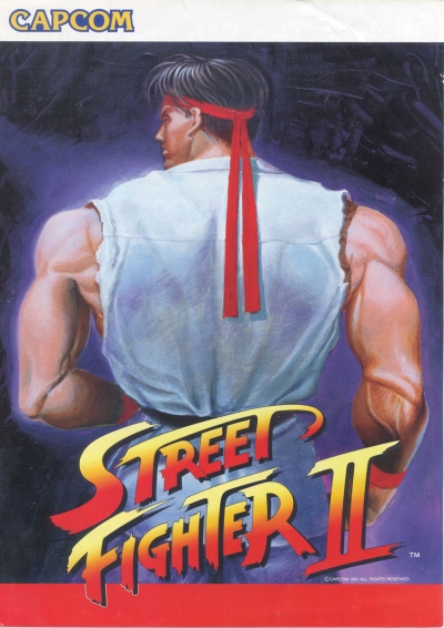 Obal hry Street Fighter II