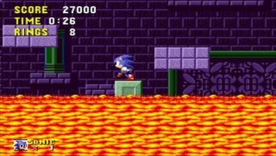 Screen ze hry Sega Genesis Collection