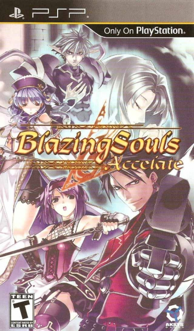 Obal hry Blazing Souls: Accelate