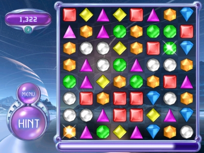 Screen ze hry Bejeweled 2