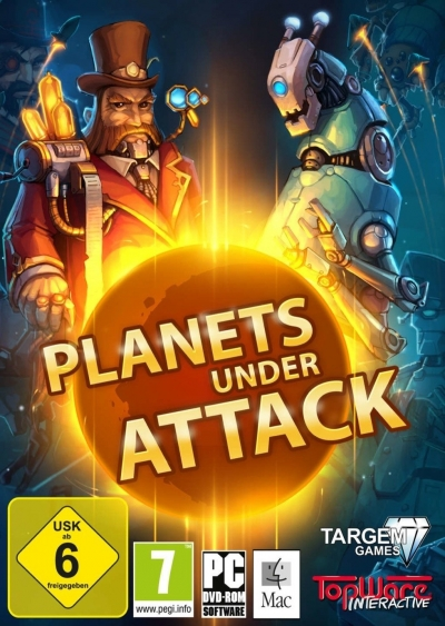 Obal hry Planets Under Attack