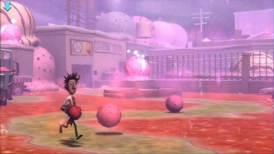 Screen ze hry Cloudy With a Chance of Meatballs
