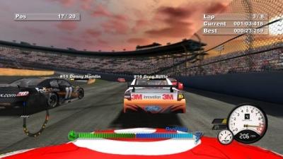 Screen ze hry Days of Thunder: NASCAR Edition