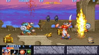 Screen ze hry Capcom Classics Collection Reloaded