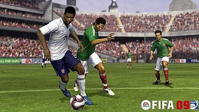 Screen ze hry FIFA Soccer 09