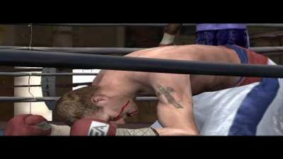 Screen ze hry Fight Night Round 3