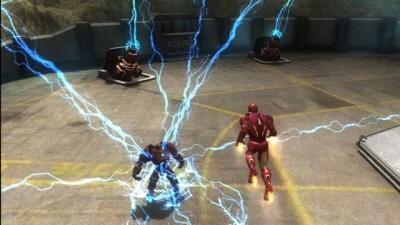 Screen ze hry Iron Man 2