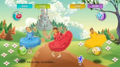 Screen ze hry Just Dance Kids 2