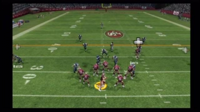 Screen ze hry Madden NFL 07