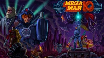 Artwork ke hře Mega Man 10