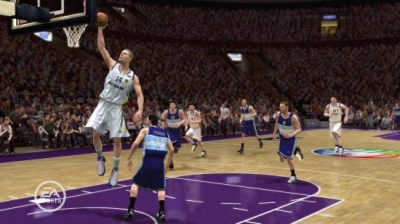 Screen ze hry NBA Live 08