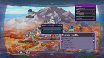 Screen ze hry Hyperdimension Neptunia Victory