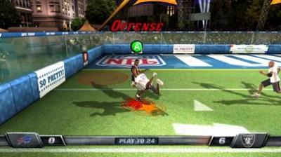 Screen ze hry NFL Tour