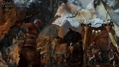 Screen ze hry Game of Thrones