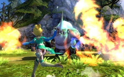 Screen ze hry Dragon Nest