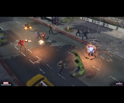 Screen ze hry Marvel Heroes