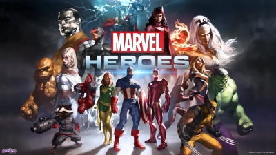 Artwork ke hře Marvel Heroes