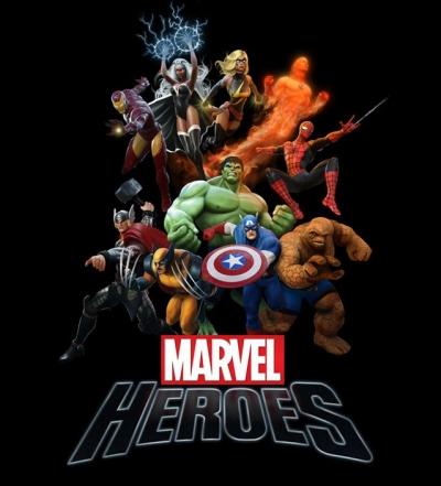 Obal hry Marvel Heroes
