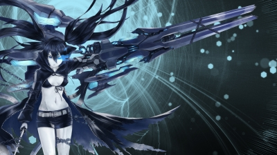 Artwork ke hře Black Rock Shooter - The Game