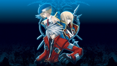 Artwork ke hře BlazBlue - Calamity Trigger Portable
