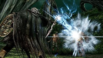 Screen ze hry Dark Souls II