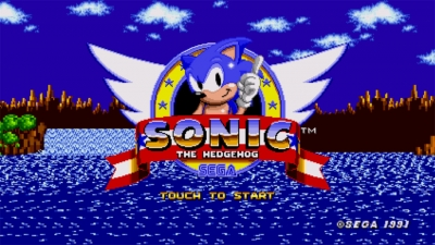 Screen ze hry Sonic the Hedgehog