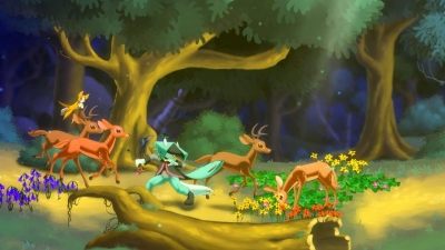 Screen ze hry Dust: An Elysian Tail