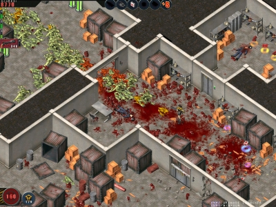Screen ze hry Alien Shooter: Revisted