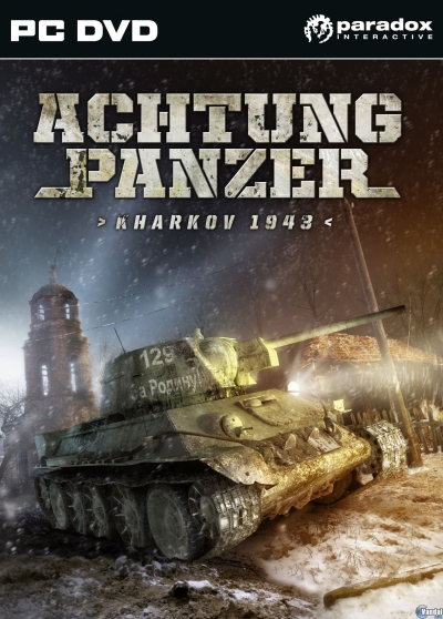 Obal hry Achtung Panzer Kharkov 1943