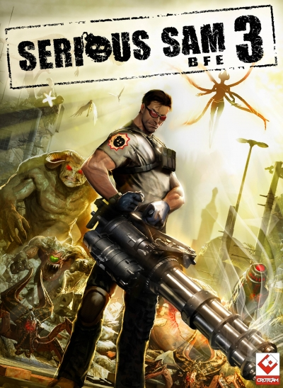 Obal hry Serious Sam 4: Planet Badass
