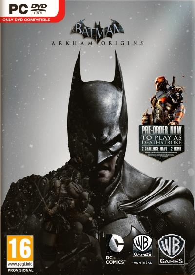 Obal hry Batman: Arkham Origins