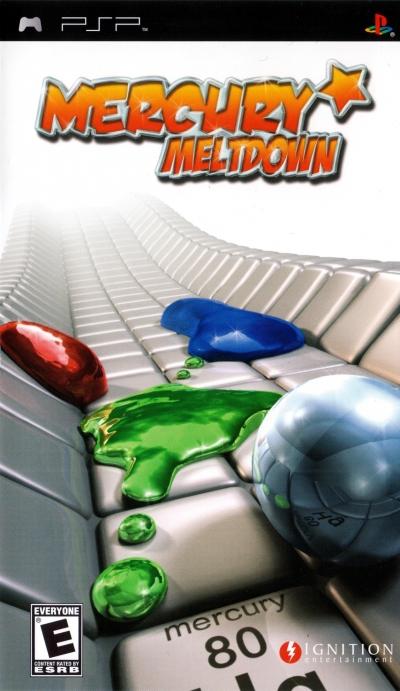 Obal hry Mercury Meltdown