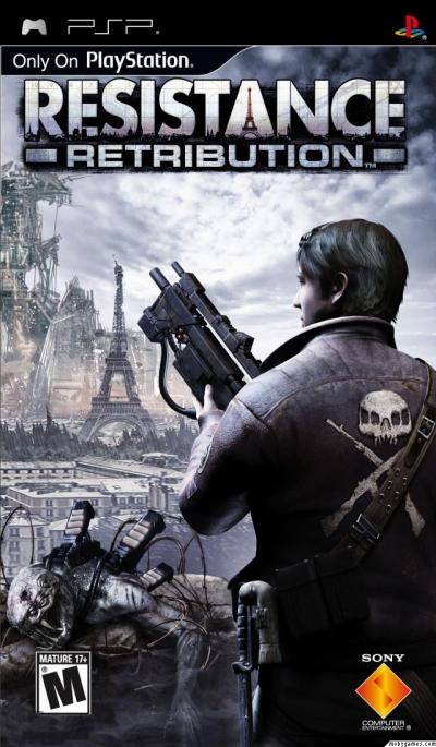 Obal hry Resistance: Retribution