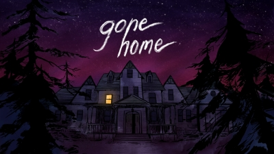 Artwork ke hře Gone Home