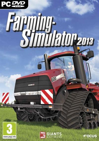 Obal hry Farming Simulator 2013