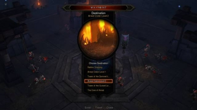 Screen ze hry Diablo III