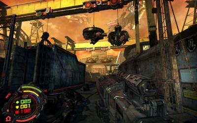 Screen ze hry Hard Reset: Exile DLC