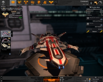 Screen ze hry Star Conflict