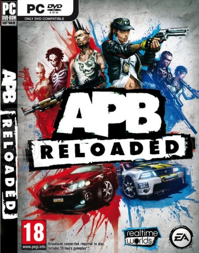 Obal hry APB Reloaded