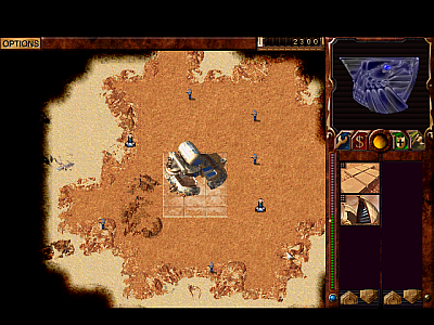 Screen ze hry Dune 2000