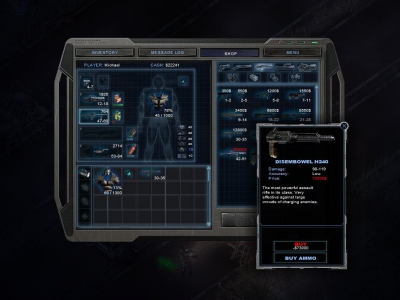 Screen ze hry Alien Shooter 2: Reloaded