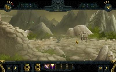 Screen ze hry Aztaka