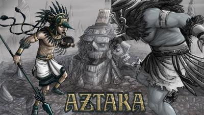 Artwork ke hře Aztaka