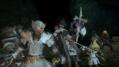 Screen ze hry Final Fantasy XIV: A Realm Reborn