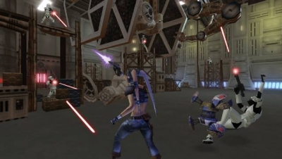 Screen ze hry Star Wars: Lethal Alliance