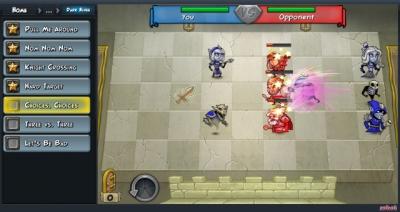 Screen ze hry Hero Academy